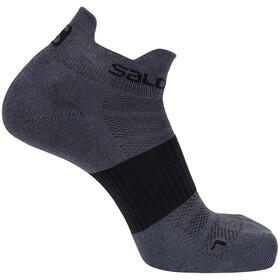 Salomon Sense Socks 2 Pack forged iron/vivid blue